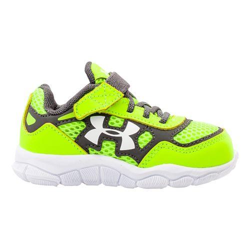 Kids Under Armour Boys Infant Engage BL Running Shoe - Hi-Viz Yellow 8