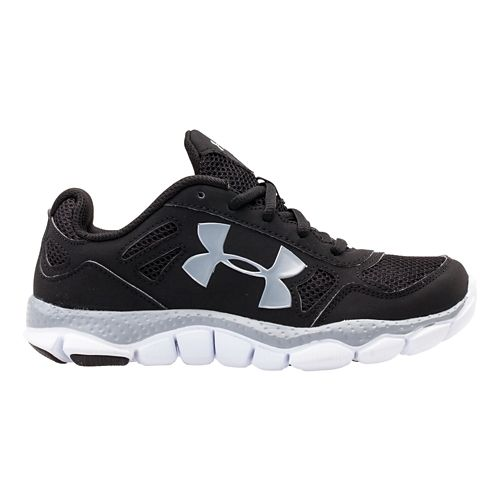 Kids Under Armour Boys PS Engage BL Running Shoe - Black 13.5