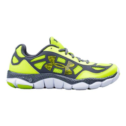 Kids Under Armour Boys GS Micro G Engage BL Running Shoe - High Viz 6.5 ...
