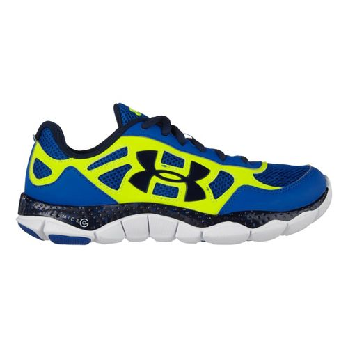 Kids Under Armour Boys GS Micro G Engage BL Running Shoe - Scatter 4
