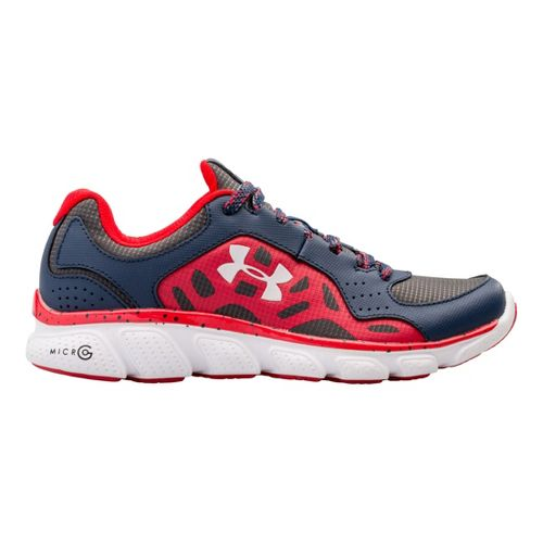 Kids Under Armour Boys GS Assert IV Trail Running Shoe - Academy 6.5