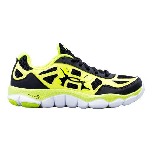 Kids Under Armour Boys GS Micro G Engage BL SH Running Shoe - Black 5.5 ...