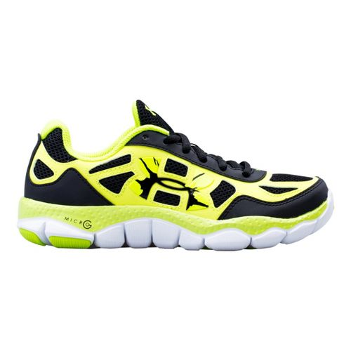 Kids Under Armour Boys GS Micro G Engage BL SH Running Shoe - Black 7 ...