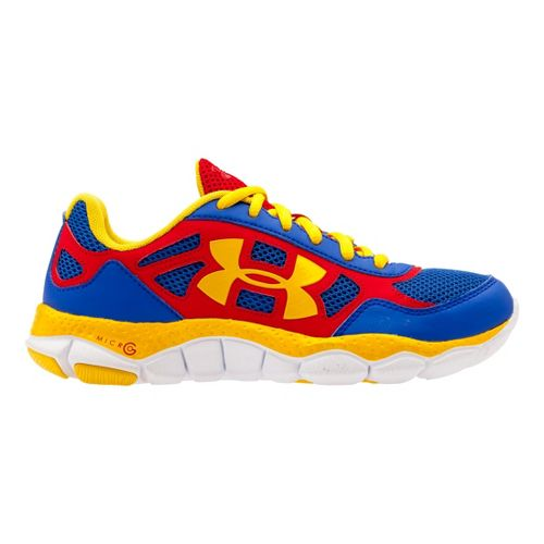 Kids Under Armour Boys GS Micro G Engage BL SH Running Shoe - Team Royal ...