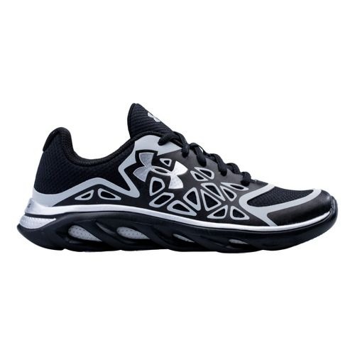 Kids Under Armour Boys GS Spine Surge Running Shoe - Black 4.5