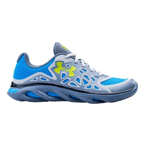 Kids Under Armour Boys GS Spine Surge Running Shoe - Gravel 4.5