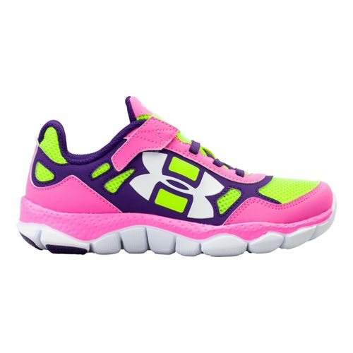 Kids Under Armour Girls PS Engage BL Alt Closure Running Shoe - Chaos 12