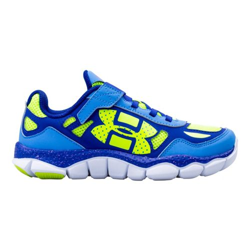 Kids Under Armour Girls PS Engage BL Alt Closure Running Shoe - Water 12