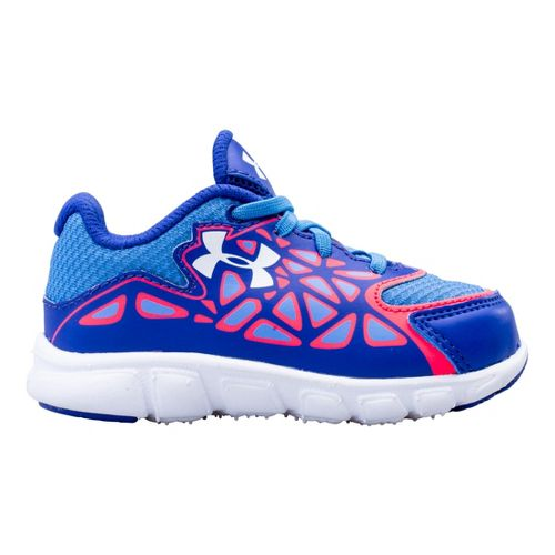 Kids Under Armour Girls Infant Spine Surge Running Shoe - Siberian Iris 10