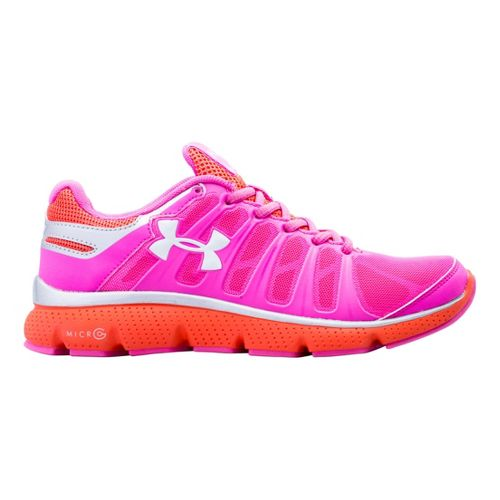 Kids Under Armour Girls GS Micro G Pulse II Running Shoe - Chaos 4