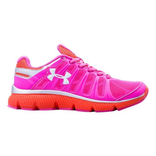 Kids Under Armour Girls PS Pulse II Running Shoe - Chaos 12