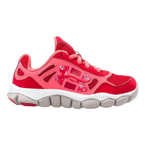 Kids Under Armour Girls PS Engage BL Running Shoe - Passion 10.5