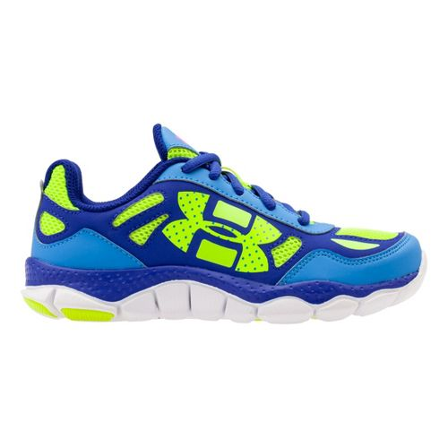 Kids Under Armour Girls PS Engage BL Running Shoe - Water 12.5