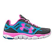 Kids Under Armour Girls PS Engage BL Running Shoe