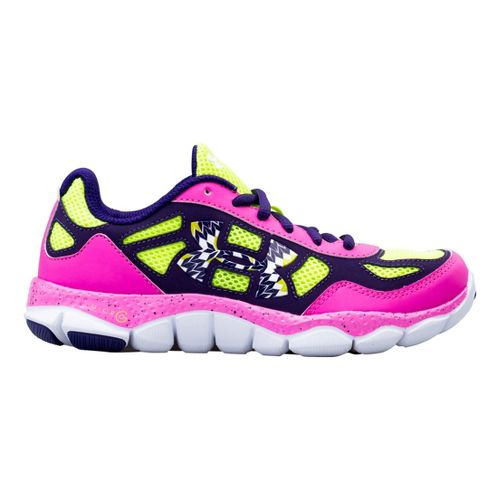 Kids Under Armour Girls GS Micro G Engage BL Running Shoe - Chaos 7