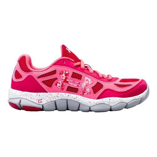 Kids Under Armour Girls GS Micro G Engage BL Running Shoe - Passion 3.5