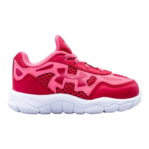 Kids Under Armour Girls Infant Engage BL Running Shoe - Passion 3