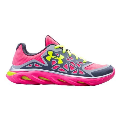 Kids Under Armour Girls GS Spine Surge Running Shoe - Graphite 3.5