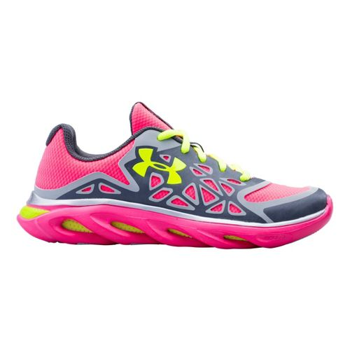 Kids Under Armour Girls GS Spine Surge Running Shoe - Graphite 4.5