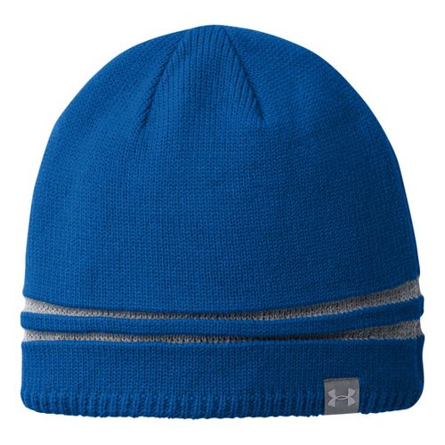 Mens Under Armour Reflective Beanie Headwear - Scatter