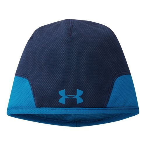 Mens Under Armour Tech Beanie Headwear - Academy