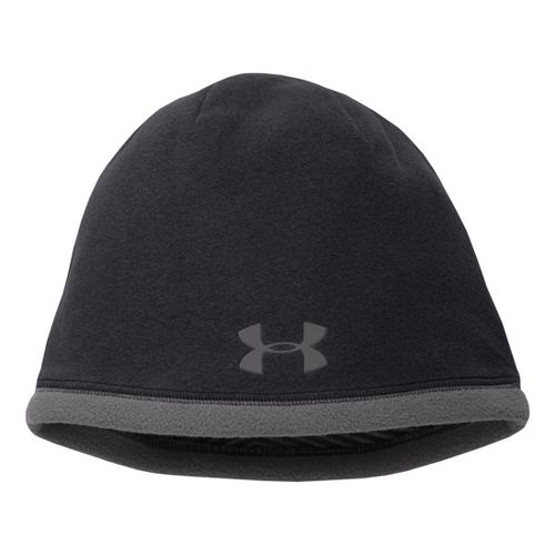 Mens Under Armour Elements Beanie Headwear - Black