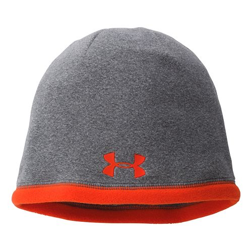Mens Under Armour Elements Beanie Headwear - Carbon Heather