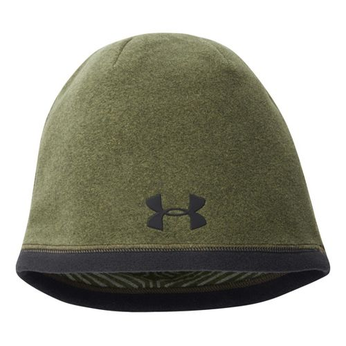 Mens Under Armour Elements Beanie Headwear - Rifle Green