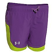 Under Armour Girls Stunner Solid Lined Shorts