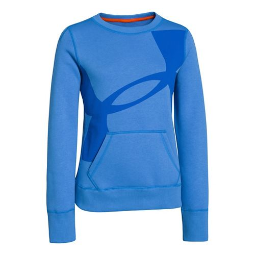 Kids Under Armour�Girls Rival Cotton Crew