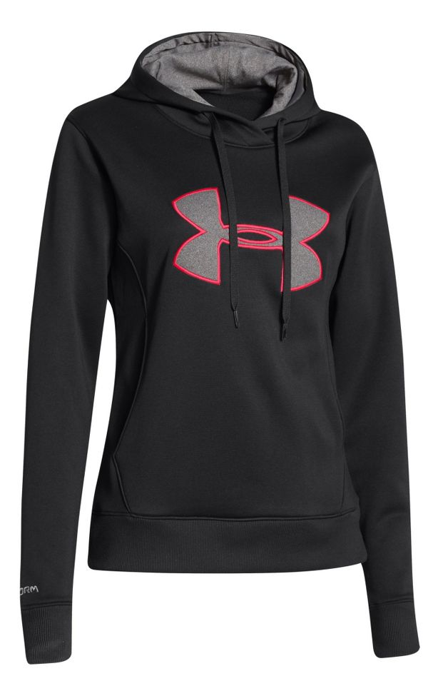 Under Armour Big Logo Applique Warm-Up Hooded Jacket