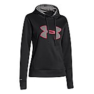 Womens Under Armour Big Logo Applique Warm-Up Hooded Jackets