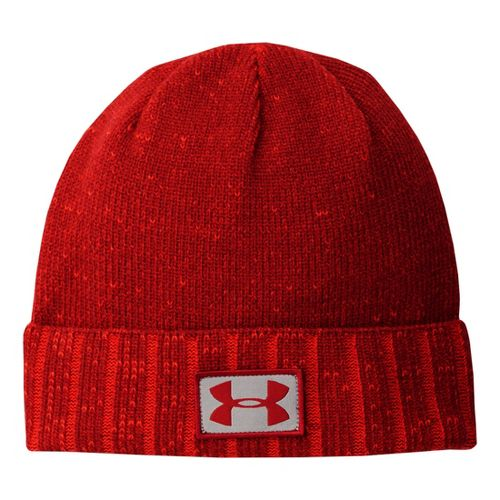Mens Under Armour Cuff Beanie Headwear - Pump