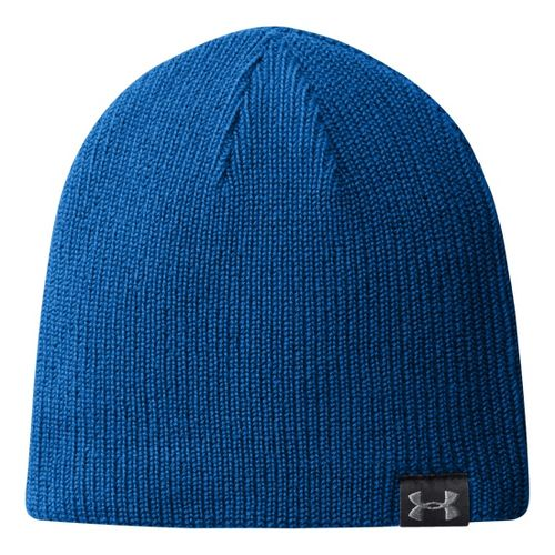 Mens Under Armour Basic Knit Beanie Headwear - Scatter