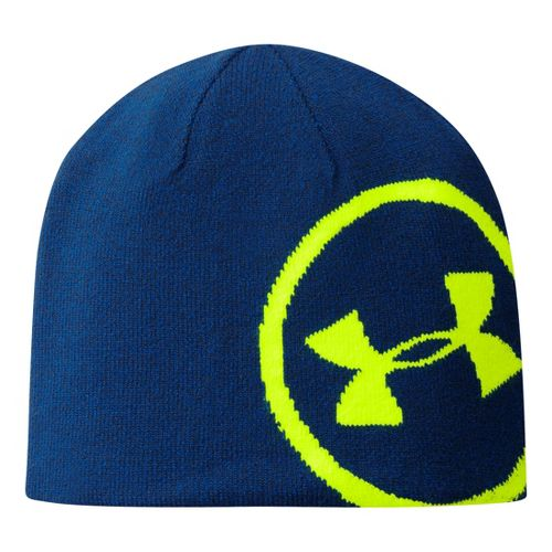 Mens Under Armour Billboard Beanie Headwear - Academy