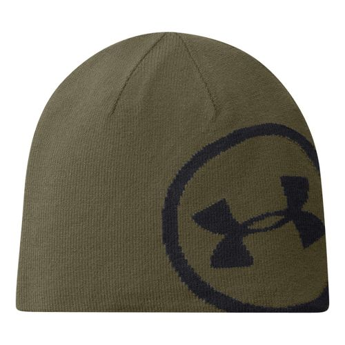Mens Under Armour Billboard Beanie Headwear - Dumpster Diver