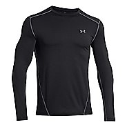 Mens Under Armour Evo Coldgear Crew Long Sleeve No Zip Technical Tops