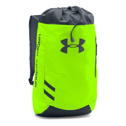 Under Armour Trance Sackpack Bags - Hyper Green/Grey