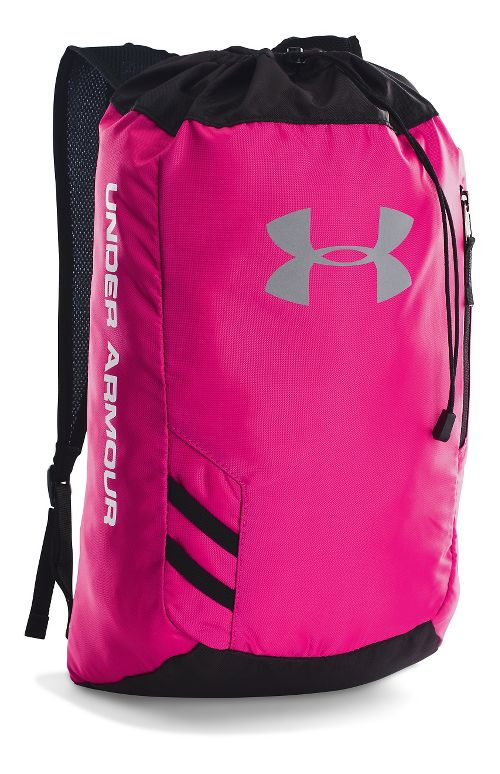 Under Armour Trance Sackpack Bags - Tropic Pink/White