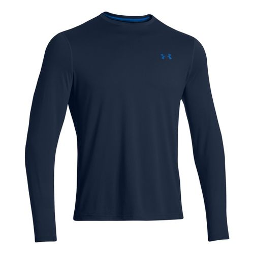 Mens Under Armour Longsleeve Tech T 2.0 Long Sleeve No Zip Technical Tops - Academy/Scatter ...