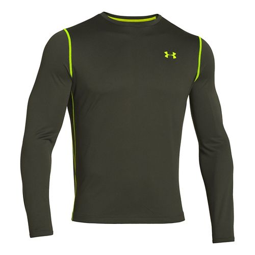Mens Under Armour Longsleeve Tech T 2.0 Long Sleeve No Zip Technical Tops - Rifle ...