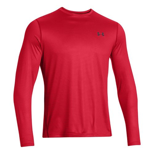 Mens Under Armour Longsleeve Tech T 2.0 Long Sleeve No Zip Technical Tops - Risk ...