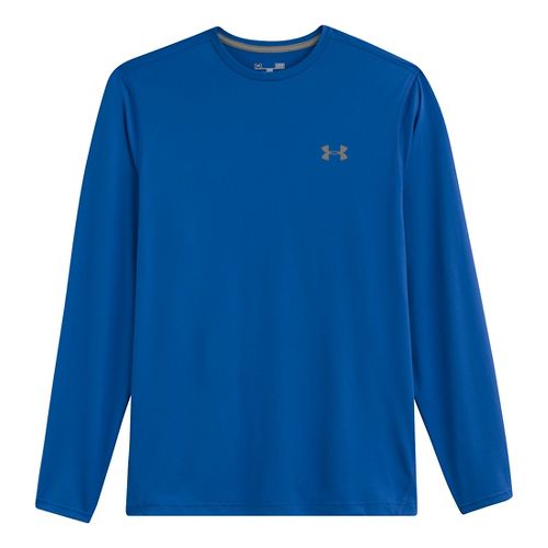 Mens Under Armour Longsleeve Tech T 2.0 Long Sleeve No Zip Technical Tops - Scatter/Scatter ...