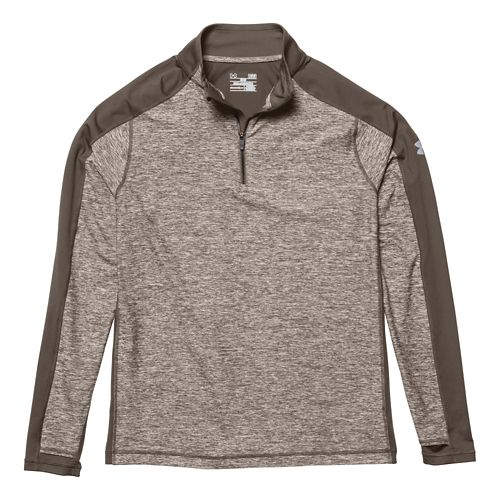 Mens Under Armour Elevated Ultimate 1/4 Zip Long Sleeve 1/2 Zip Technical Tops - Hearthstone ...