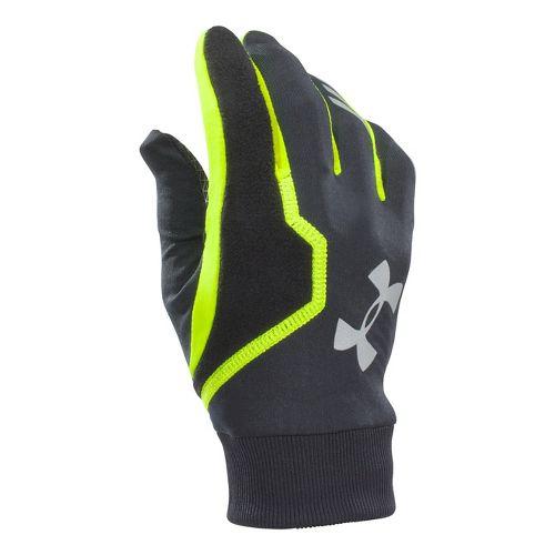 Mens Under Armour Engage ColdGear Infrared Glove Handwear - Black S