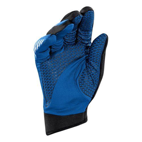 Mens Under Armour Escape ColdGear Infrared Gloves Handwear - Black/Blue XL