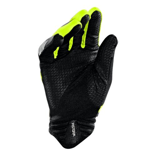 Mens Under Armour Storm Strive Glove Handwear - Black/Yellow L