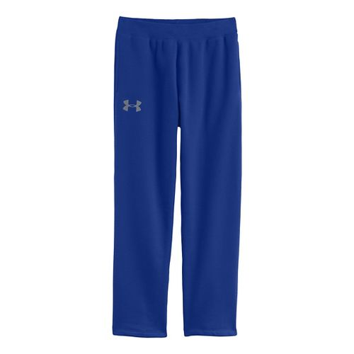 Mens Under Armour Rival Cotton Full Length Pants - Royal/Black XL