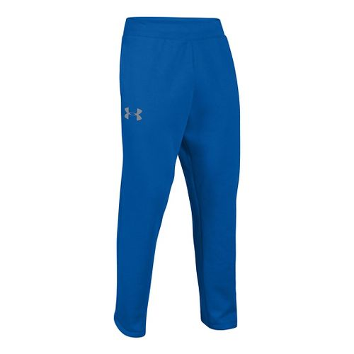 Mens Under Armour Rival Cotton Full Length Pants - Scatter/High Vis Yellow ST