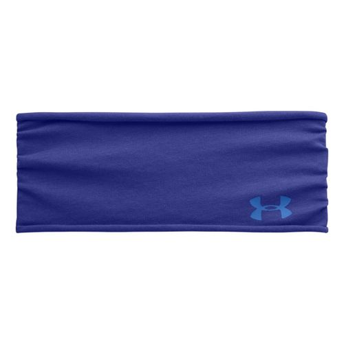 Womens Under Armour Tee Shirt Headband Headwear - Siberian Iris